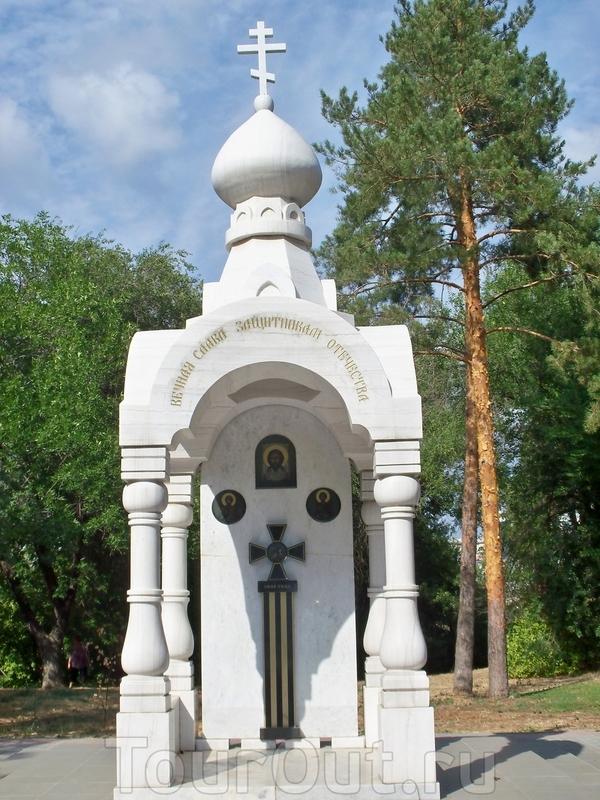 Мемориальная часовня на площади Чекистов