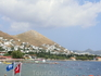 Вид на пляж и поселок Тургутрейс.