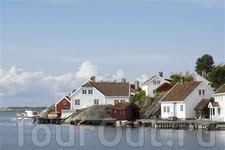 Типичный пейзаж на побережье Южной Норвегии. Foto: Johan Wildhagen/Innovation Norway