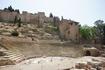 Руины римского театра (I век нашей эры) и дворец-крепость мавританских королей Алькасаба (строительство начато в XI веке на месте римского бастиона)