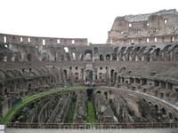 Колизей внутри