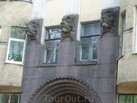 Дом в стиле арт-нуво в Выборге