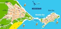 Туристическая карта Несебра