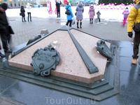 от этого знака ведется отсчет всех дорог Беларуси