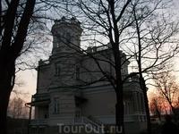 Музей города Друскининкай на берегу озера Друсконис