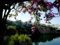 Озеро Вулисмене в Агиос Николаосе