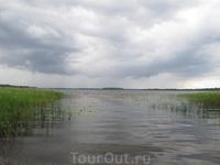 Выход в озеро