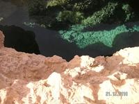 поездка в Рас Мохаммед. Расщелина глубиной 40 м