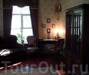 Дом-музей Ф.М.Достоевского. Кабинет писателя.