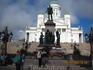 Памятник горячо любимому финнами Александру II.Его правление, говорит википедия, ознаменовалось существенным ростом финской экономики и развитием куль