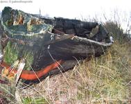 Старая лодка - восточный берег Чудского озера в районе деревни Доможирка, Гдовского района.