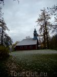 действующая лютеранская церковь...если не ошибаюсь  18 век. в церкви до сих пор идут службы и играют на органе!