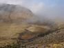 Жерло вулкана Чеджу - по-видимому, после засухи....