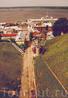 Вид на Волгу и Речной вокзал с моста
