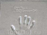 отпечаток руки Бельмандо