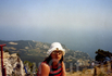 Вид с горы Ай-Петри на меня =)