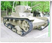 Лёгкий танк Т-26 однобашенный (СССР).