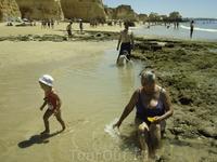 Praia de Vau, Portimao, Algarve