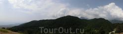 Панорама Олимпийской гряды