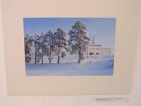 Вид на Ферапонтово зимой. Валюженич М.А.