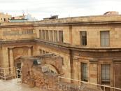Вид на фасад Национального Археологического Музея Таррагоны, который стоит на Plaza del Rey.