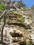 А увидели водокап... Уж очень жаркое лето было. А был это водопад Учан-Су