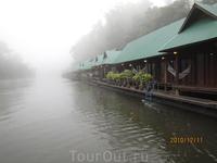 река Квай ранним утром