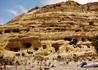 В этих пещерах в 70-е годы жили хиппи.