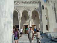 Я у входа в мечеть