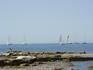 День приезда на сайте Умага был обозначен, как день старта регаты парусных судов, по всей видимости яхты- участники гонки  выходят в море.