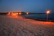 Пляж Айя-Напы ночью