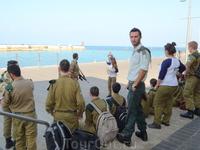 Офицер израильской Армии. Яффа.