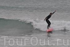 серфинг в Марокко волны Атлантического океана