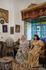 Интерьеры дома и свадебные наряды тунисских невест. Дочь владельца этого дома сделала из него музей, теперь туристы могут не только гулять по скромным ...