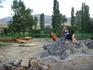 Детская площадка на территории кордона заповедника