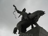 Памятник национальному герою Башкирии Салавату Юлаеву