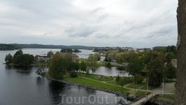 Вид из крепости, которая основана датским наместником Финляндии Эриком Аксельссоном Тоттом в 1475 году.