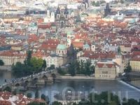 Вот такой красавицей предстала перед нами Прага из окна иллюминатора. Уже тогда я поняла, что безумно полюблю этот город