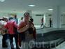 В аэропорту города Монастир ждем багаж