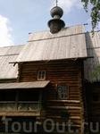 Все постройки в музее дремучих годов и конечно же все из дерева!