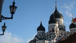 Фонари и купола....