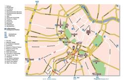 Карта Вены на русском