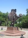 Фотография Памятник апельсину