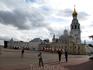 Вид на Кремль со стороны кремлевской площади (справа колокольня)