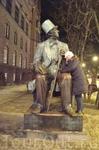 Копенгаген. Памятник Андерсену.