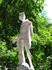 одна из множества античных статуй