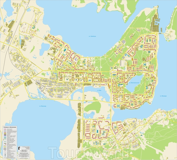 Где находиться мончегорск на карте