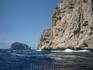 Мыс на побережье - где-то рядом вход в гротто ди Неттуно