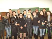 Я со студентами в Югоосетинском государственном университете. Цхинвал