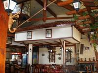 Ресторанчик в Пловдиве, где нас кормили вкусным обедом:)))